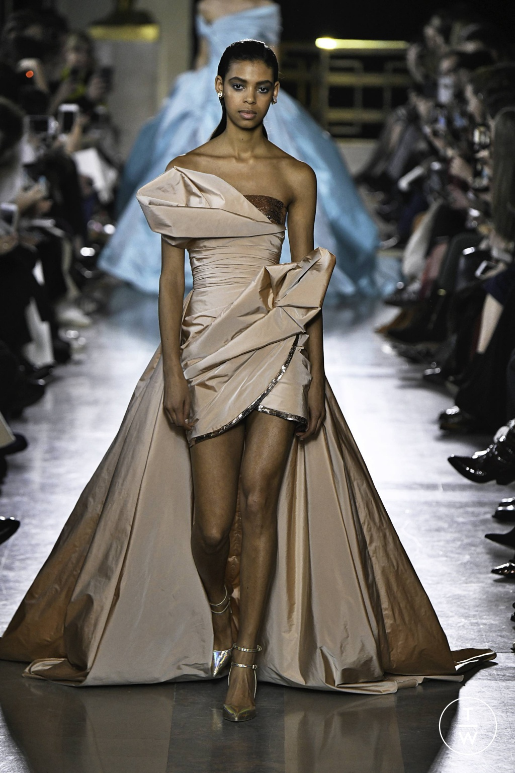 Fashion Week Paris Spring/Summer 2019 look 13 from the Elie Saab collection 高级定制