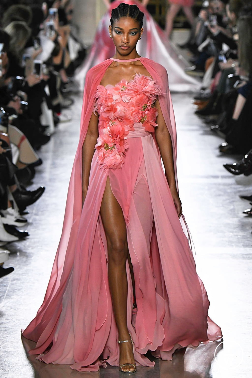 Fashion Week Paris Spring/Summer 2019 look 18 from the Elie Saab collection 高级定制