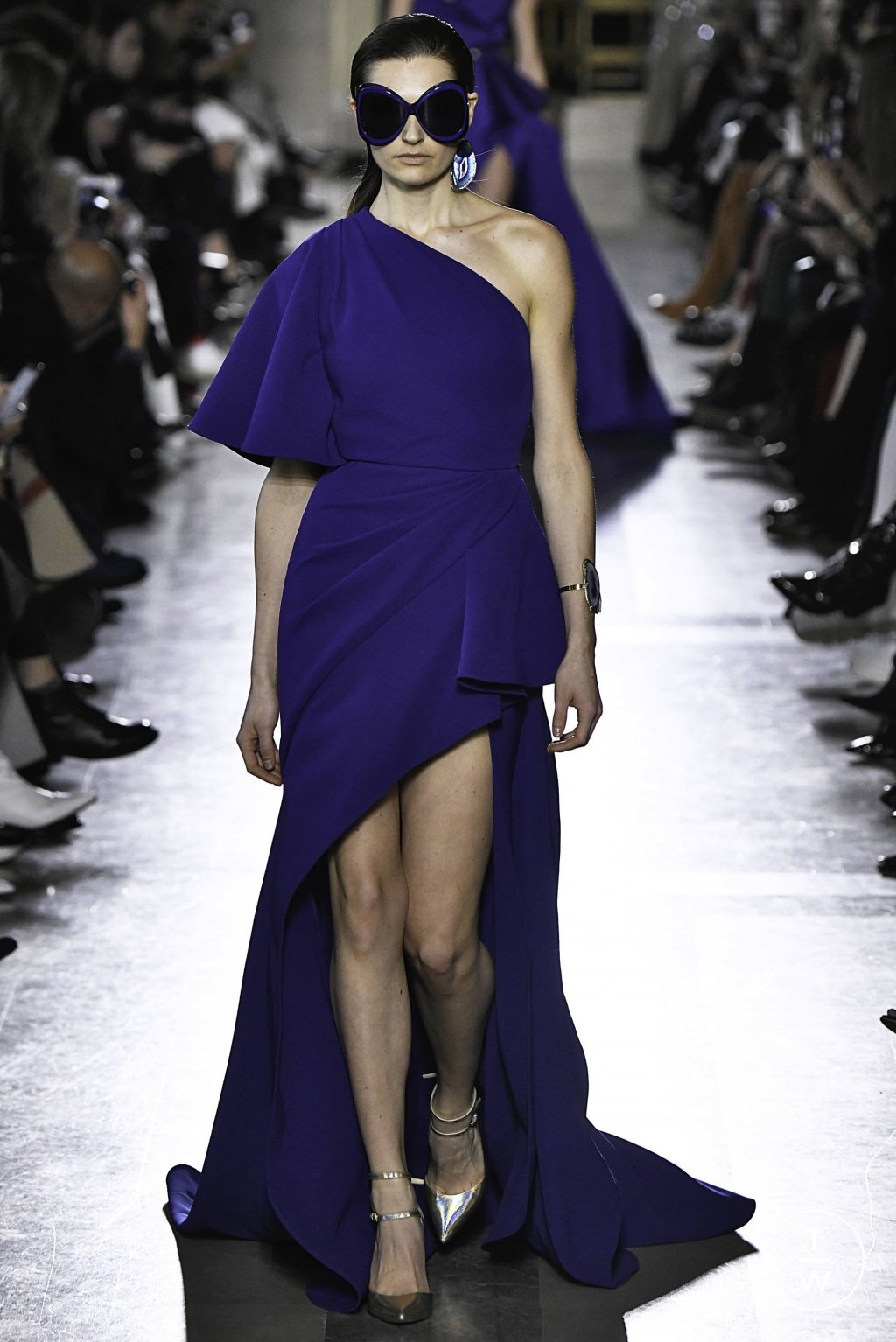 Fashion Week Paris Spring/Summer 2019 look 47 from the Elie Saab collection 高级定制