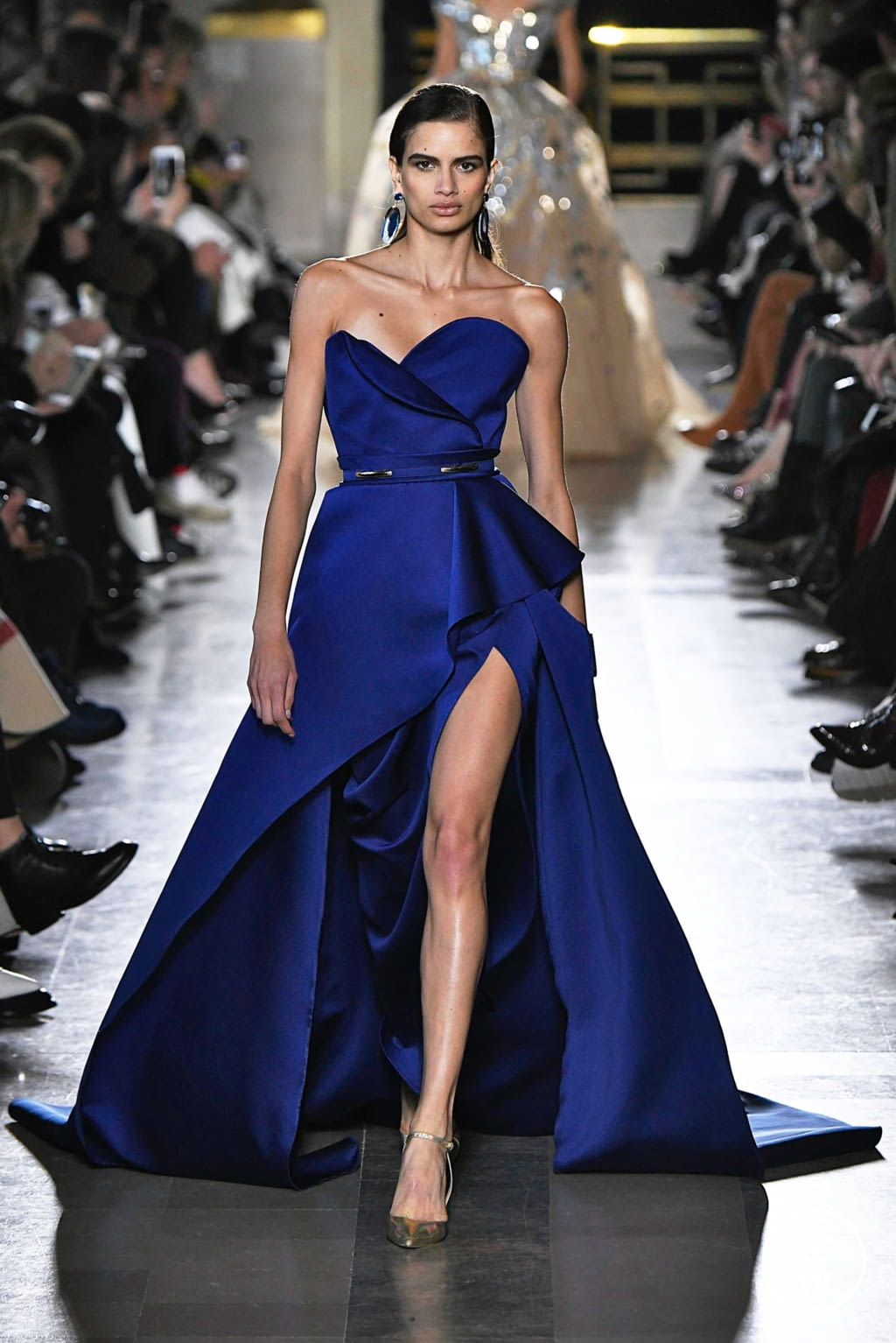 Fashion Week Paris Spring/Summer 2019 look 48 from the Elie Saab collection 高级定制
