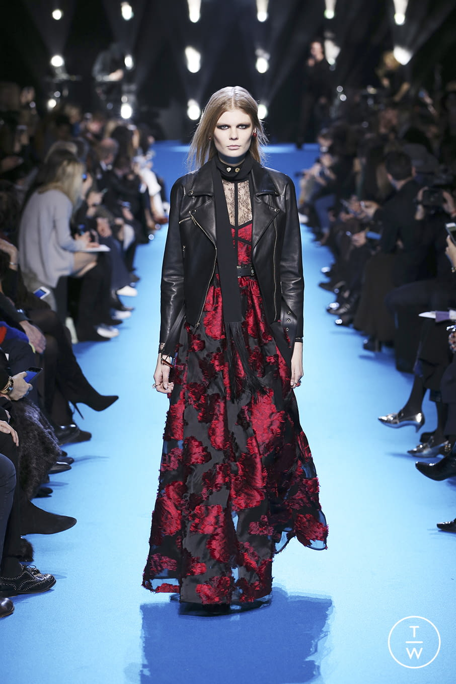 Fashion Week Paris Fall/Winter 2016 look 35 from the Elie Saab collection womenswear