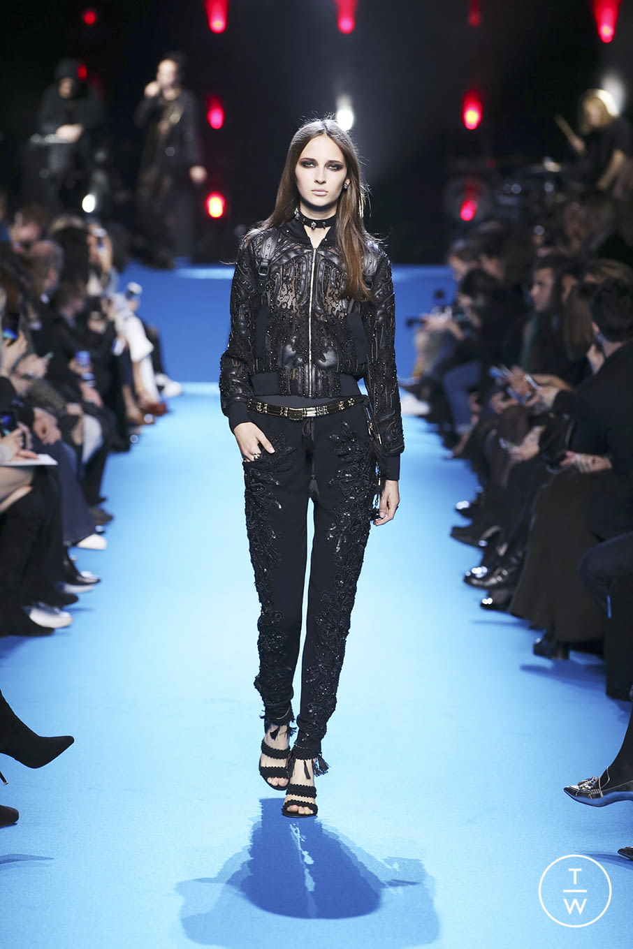 Fashion Week Paris Fall/Winter 2016 look 36 from the Elie Saab collection 女装