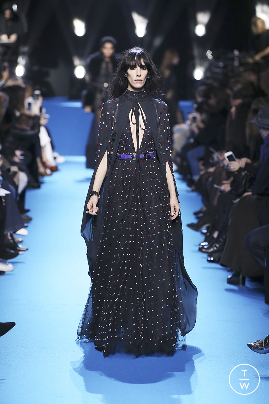 Fashion Week Paris Fall/Winter 2016 look 47 from the Elie Saab collection 女装