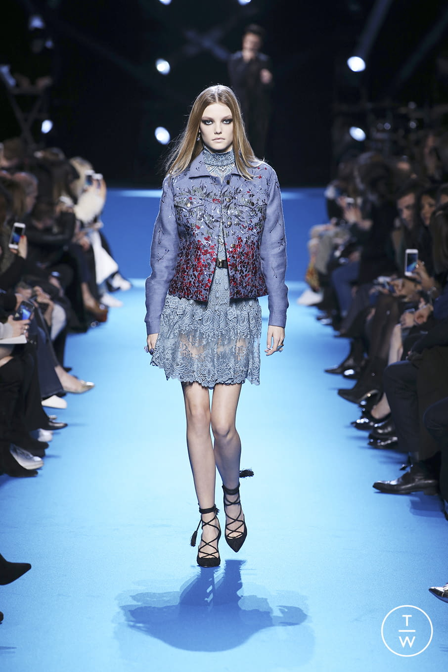 Fashion Week Paris Fall/Winter 2016 look 5 from the Elie Saab collection womenswear