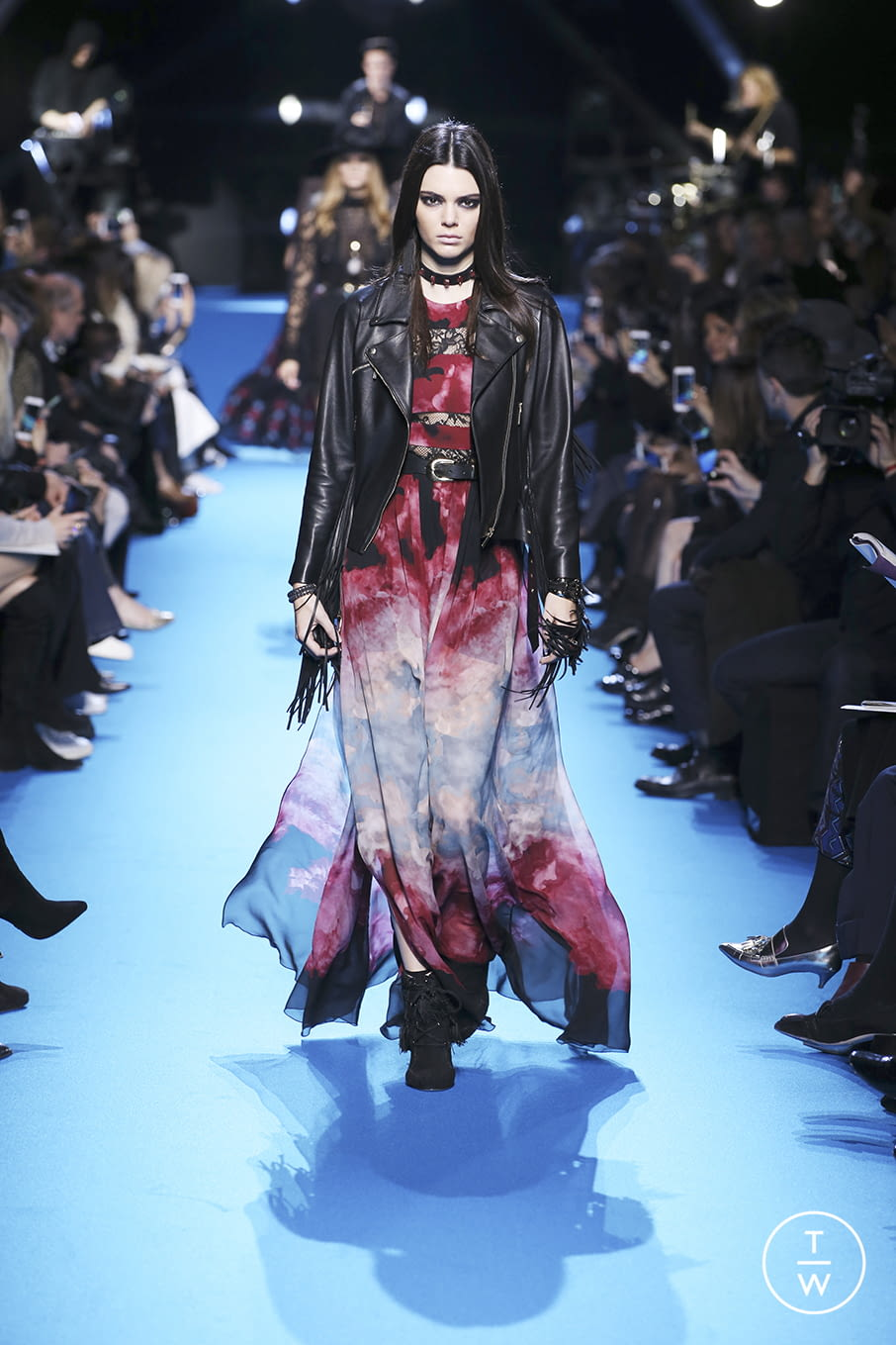 Fashion Week Paris Fall/Winter 2016 look 7 from the Elie Saab collection 女装