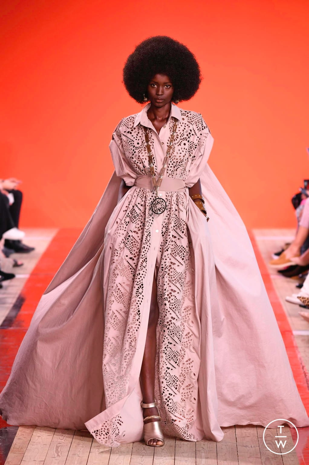 Fashion Week Paris Spring/Summer 2020 look 1 from the Elie Saab collection womenswear