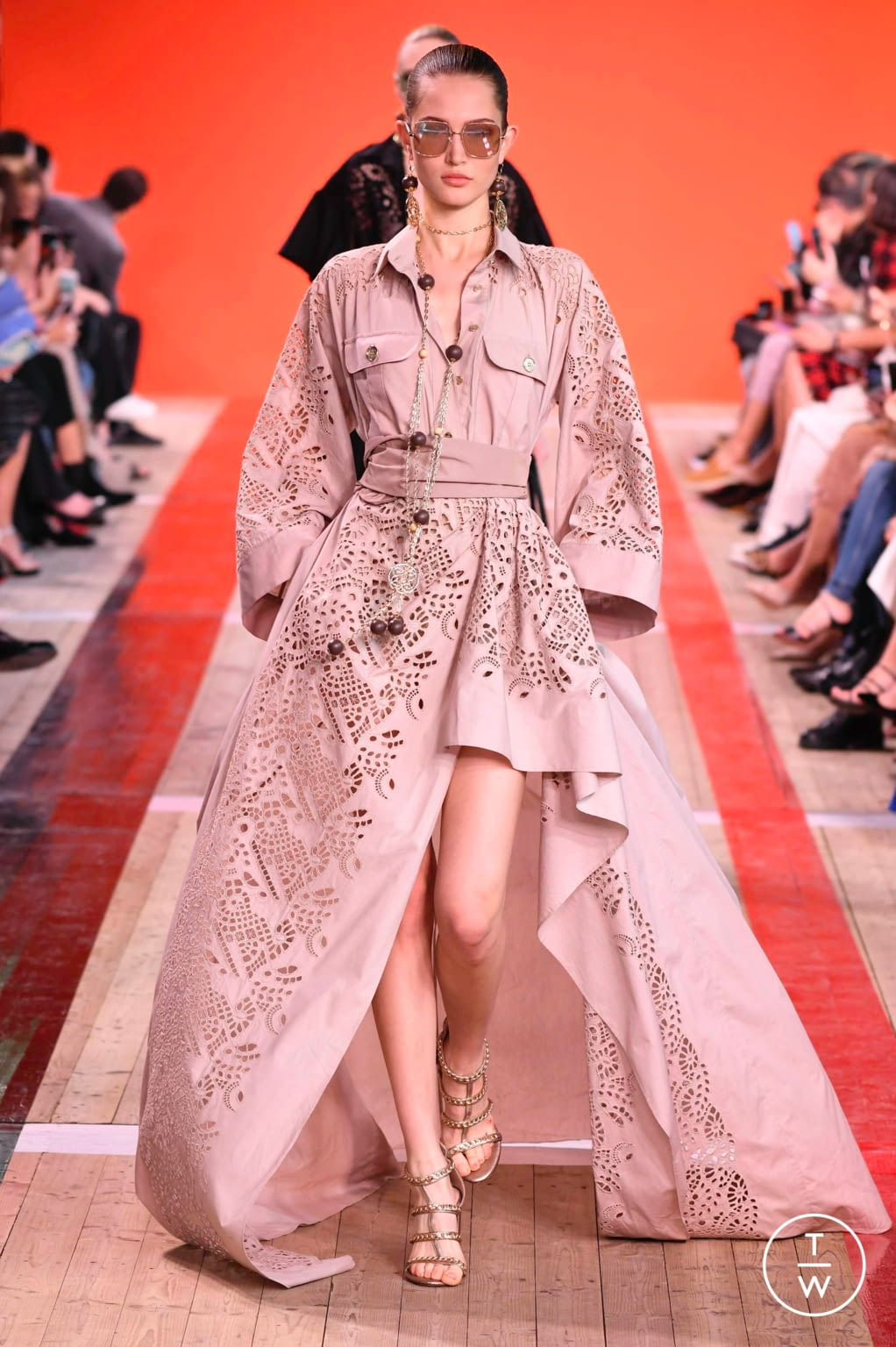 Fashion Week Paris Spring/Summer 2020 look 3 from the Elie Saab collection womenswear