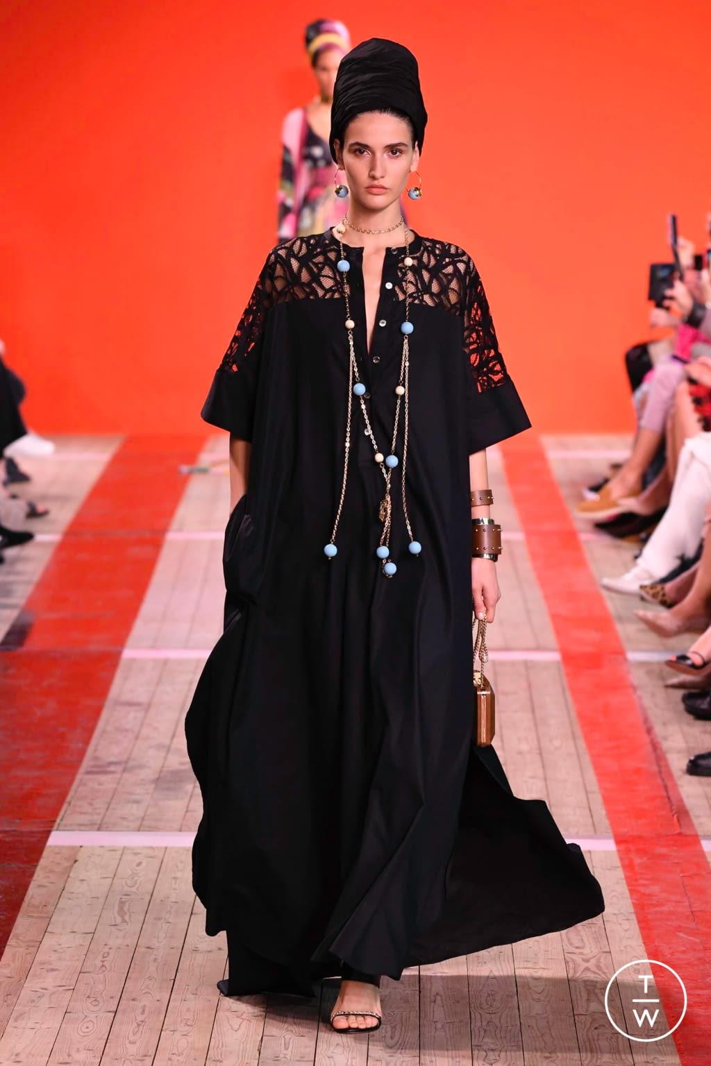 Fashion Week Paris Spring/Summer 2020 look 7 de la collection Elie Saab womenswear