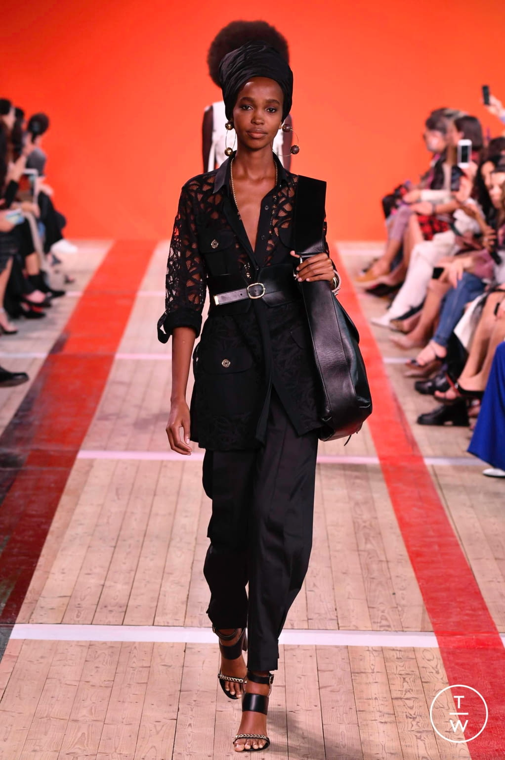 Fashion Week Paris Spring/Summer 2020 look 10 from the Elie Saab collection womenswear