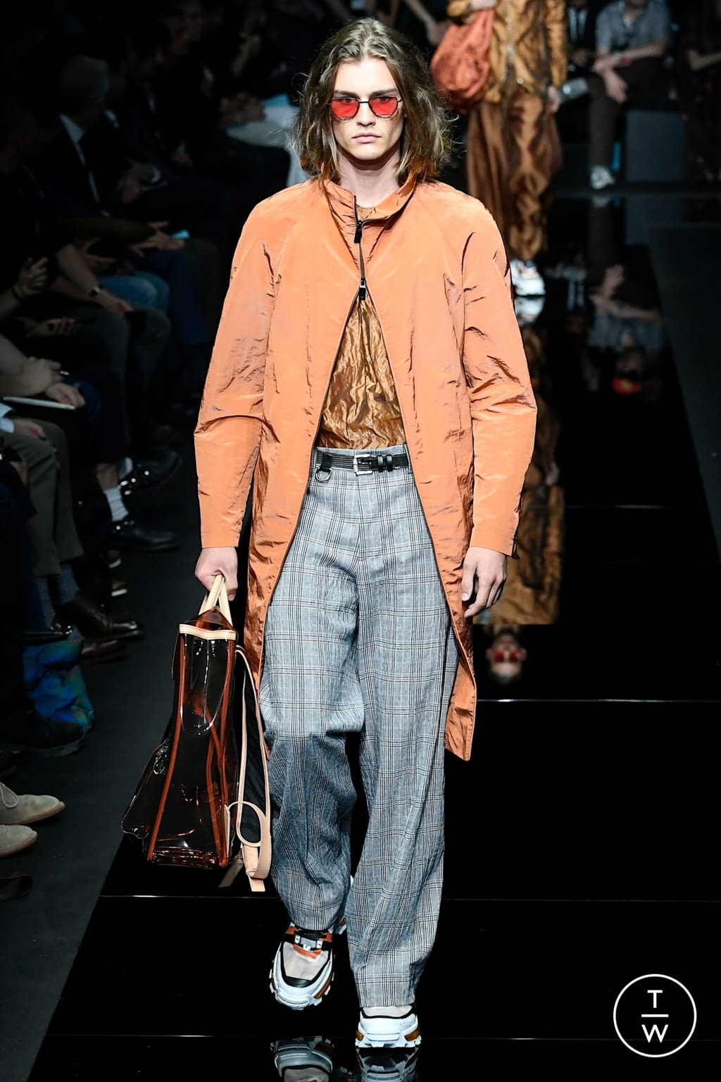 Fashion Week Milan Spring/Summer 2020 look 39 from the Emporio Armani collection 男装