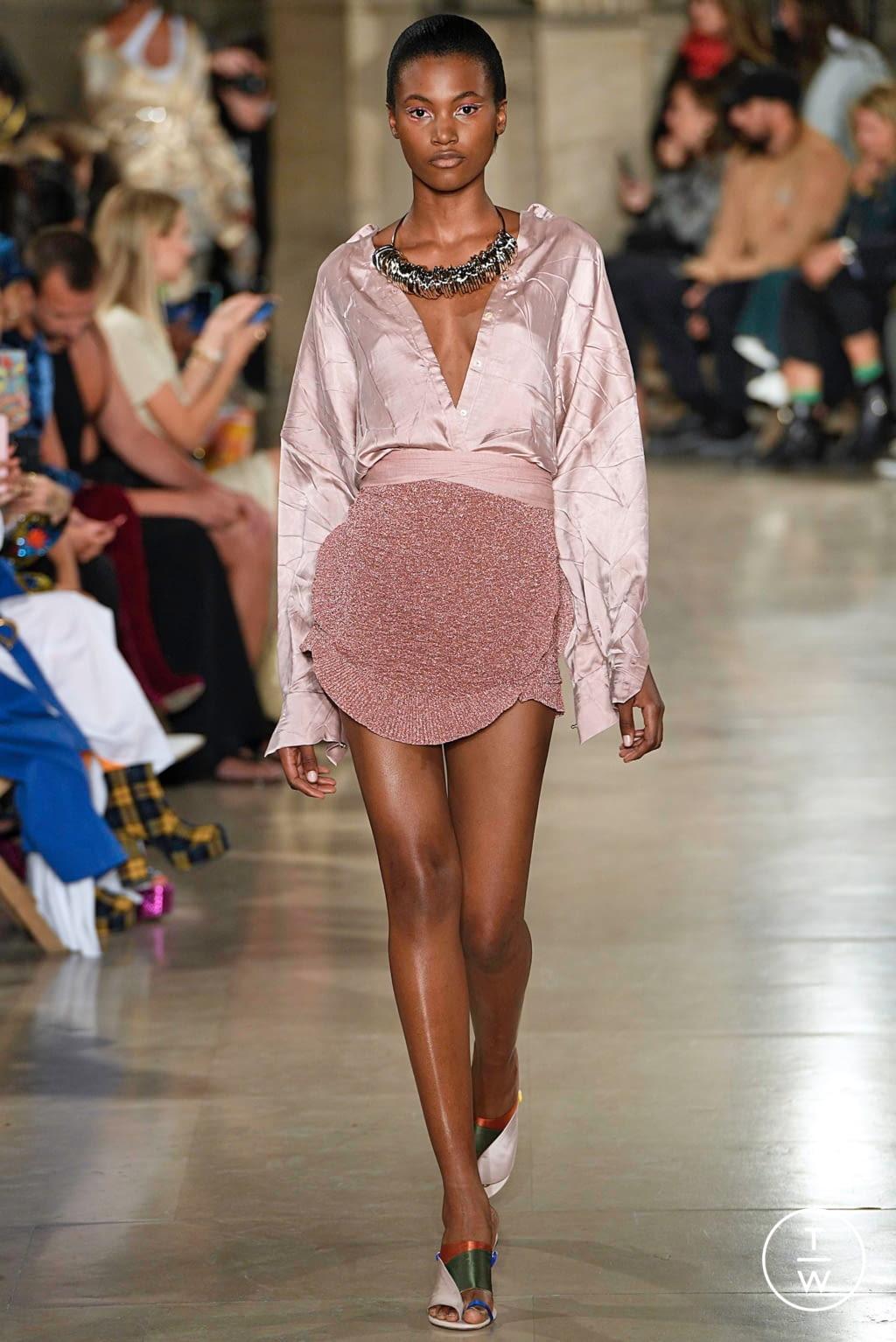 Fashion Week Paris Spring/Summer 2019 look 3 from the Esteban Cortazar collection womenswear