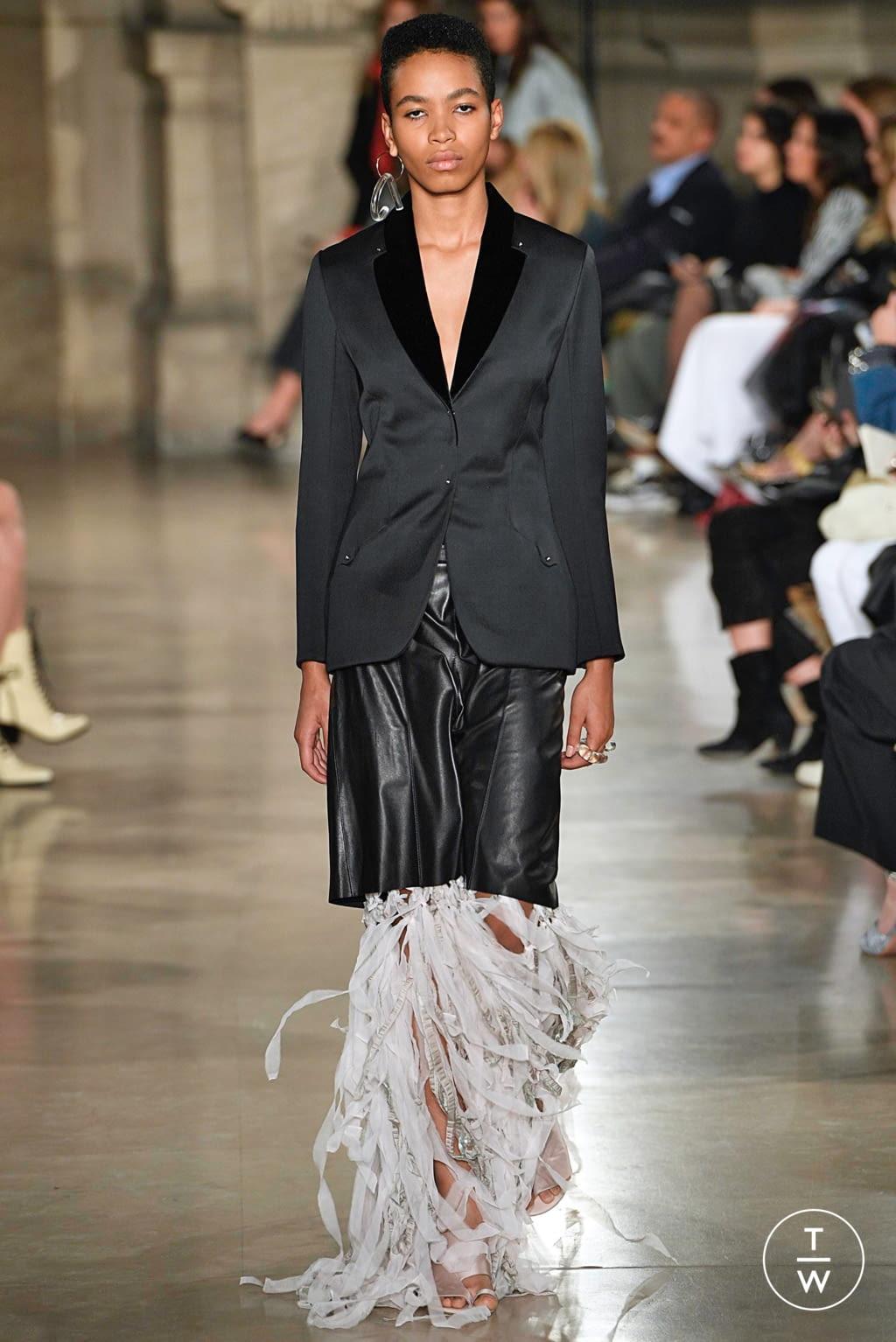 Fashion Week Paris Spring/Summer 2019 look 12 de la collection Esteban Cortazar womenswear