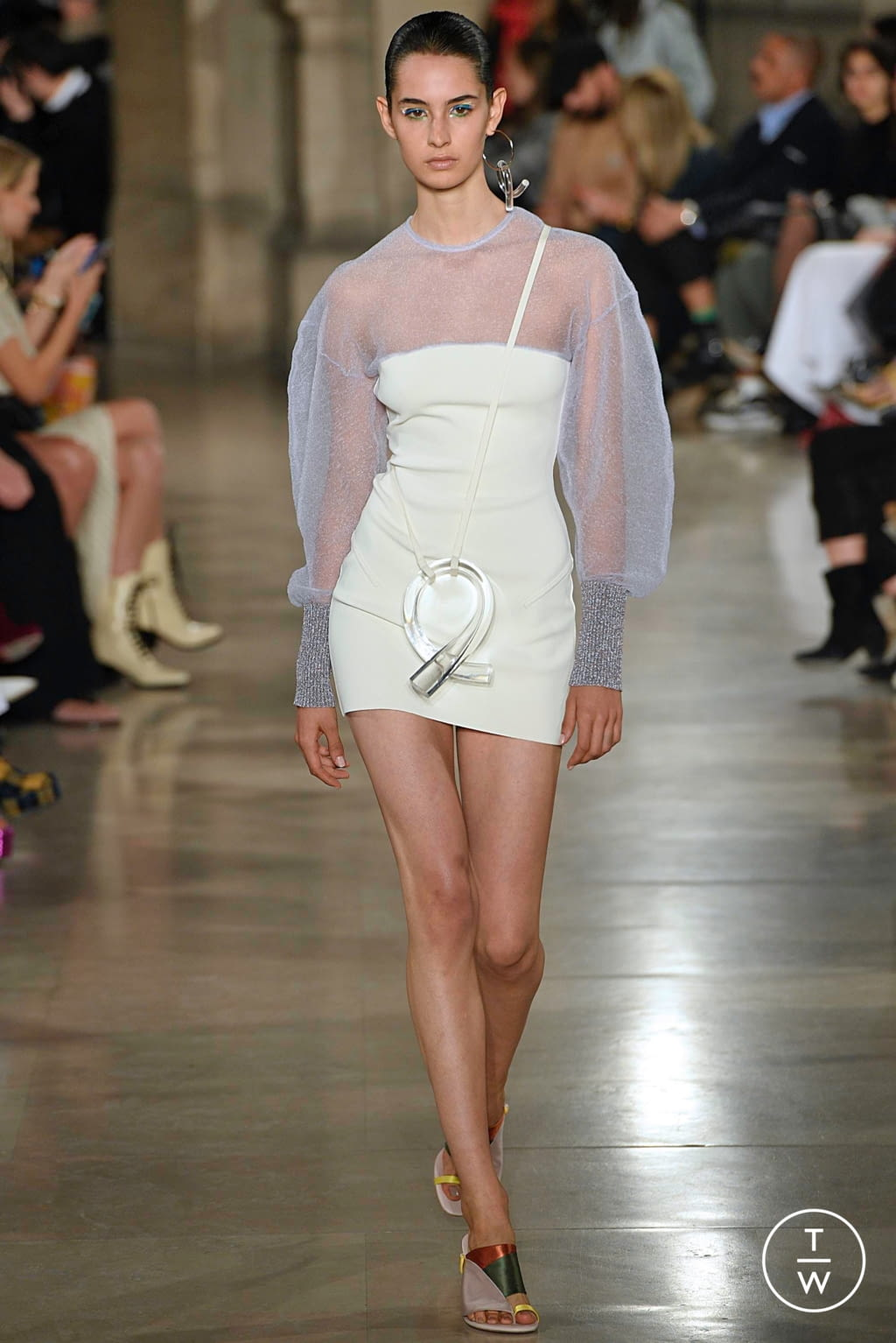 Fashion Week Paris Spring/Summer 2019 look 13 from the Esteban Cortazar collection womenswear