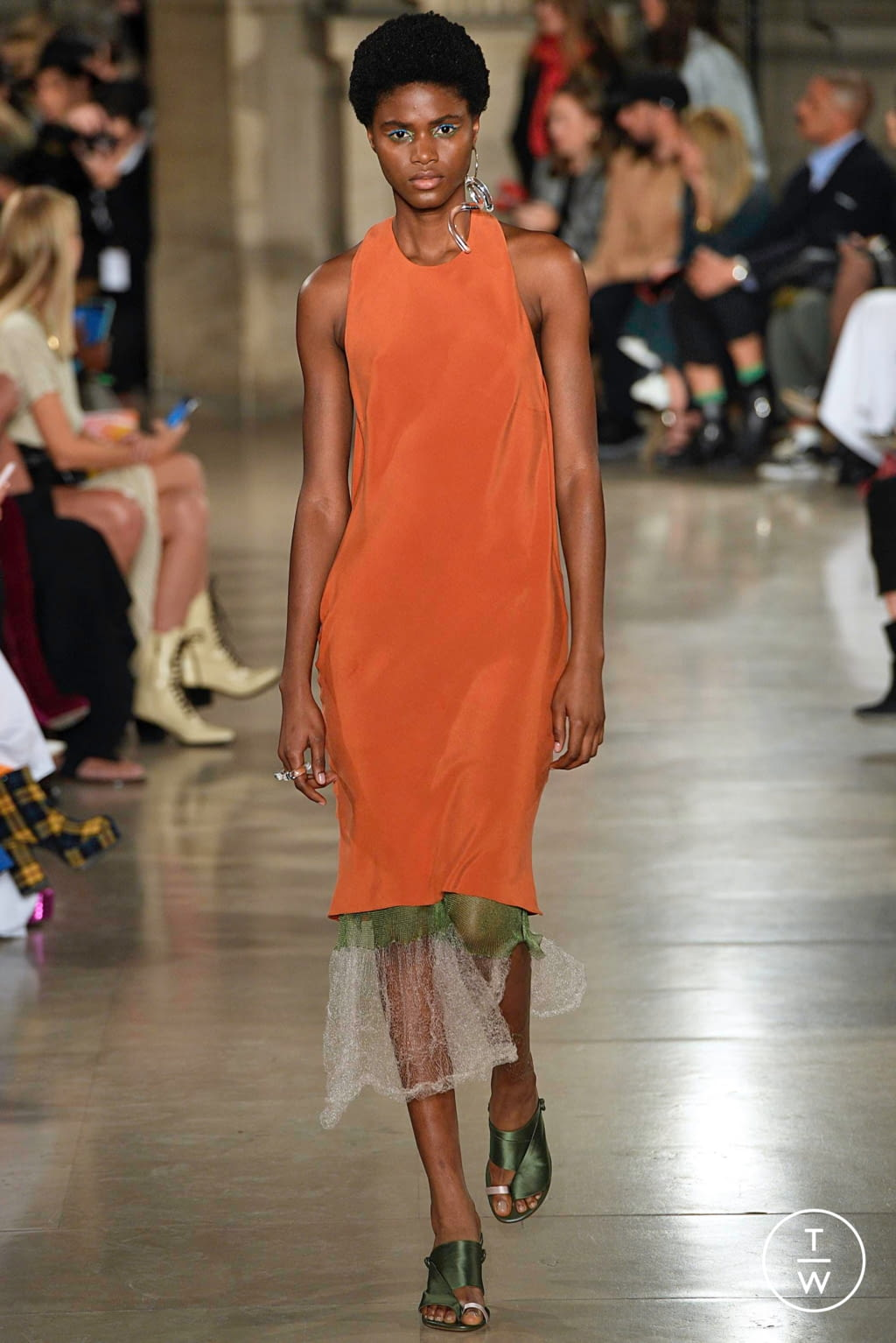 Fashion Week Paris Spring/Summer 2019 look 19 from the Esteban Cortazar collection 女装