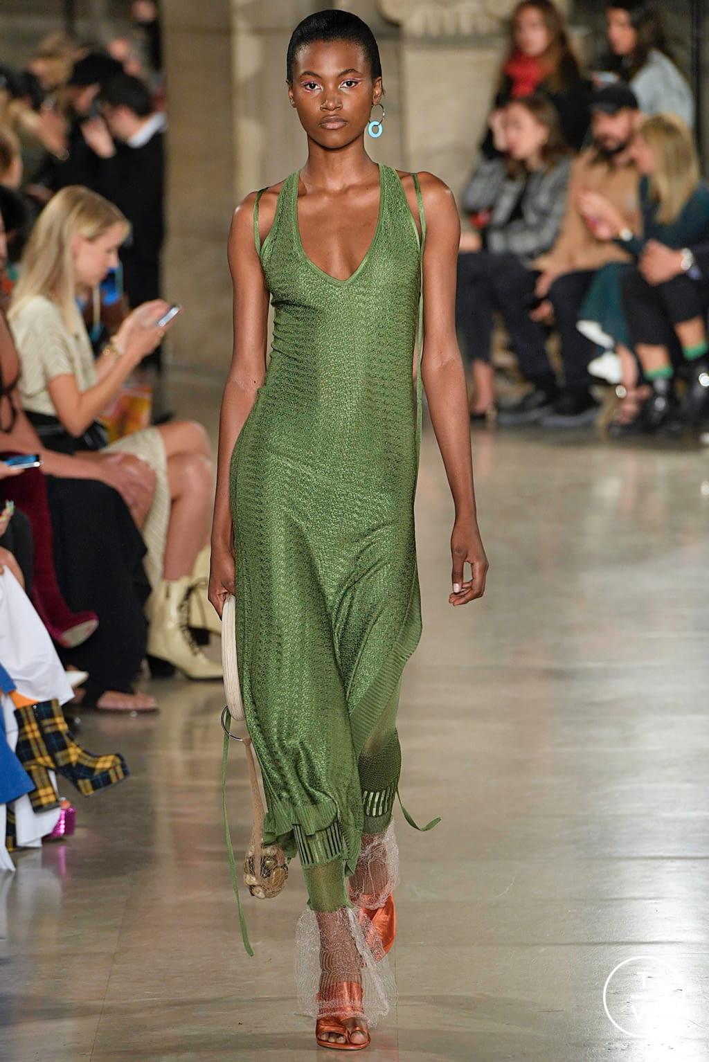 Fashion Week Paris Spring/Summer 2019 look 20 from the Esteban Cortazar collection womenswear