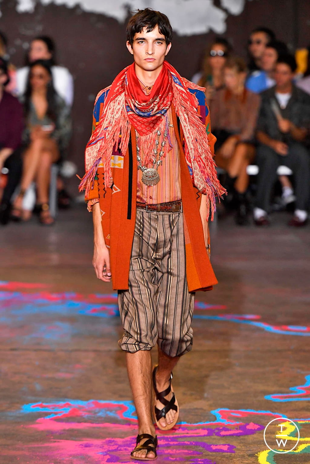 Fashion Week Milan Spring/Summer 2020 look 12 from the Etro collection menswear