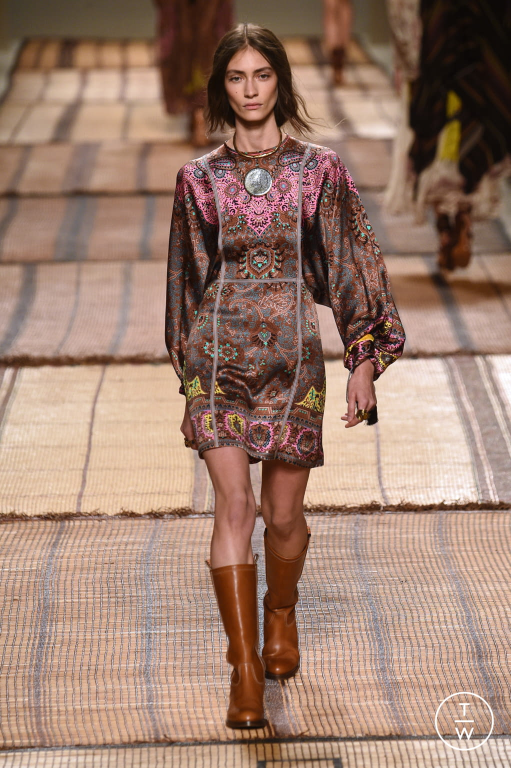 Fashion Week Milan Spring/Summer 2017 look 18 from the Etro collection 女装