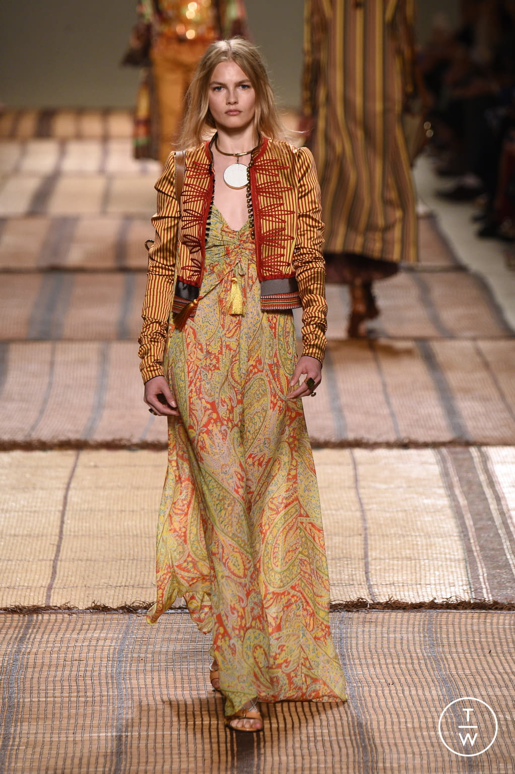 Fashion Week Milan Spring/Summer 2017 look 21 from the Etro collection 女装