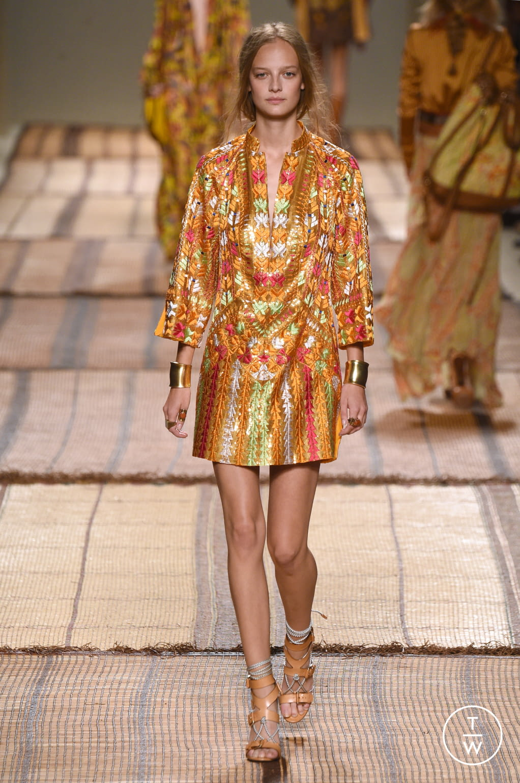 Fashion Week Milan Spring/Summer 2017 look 23 from the Etro collection 女装