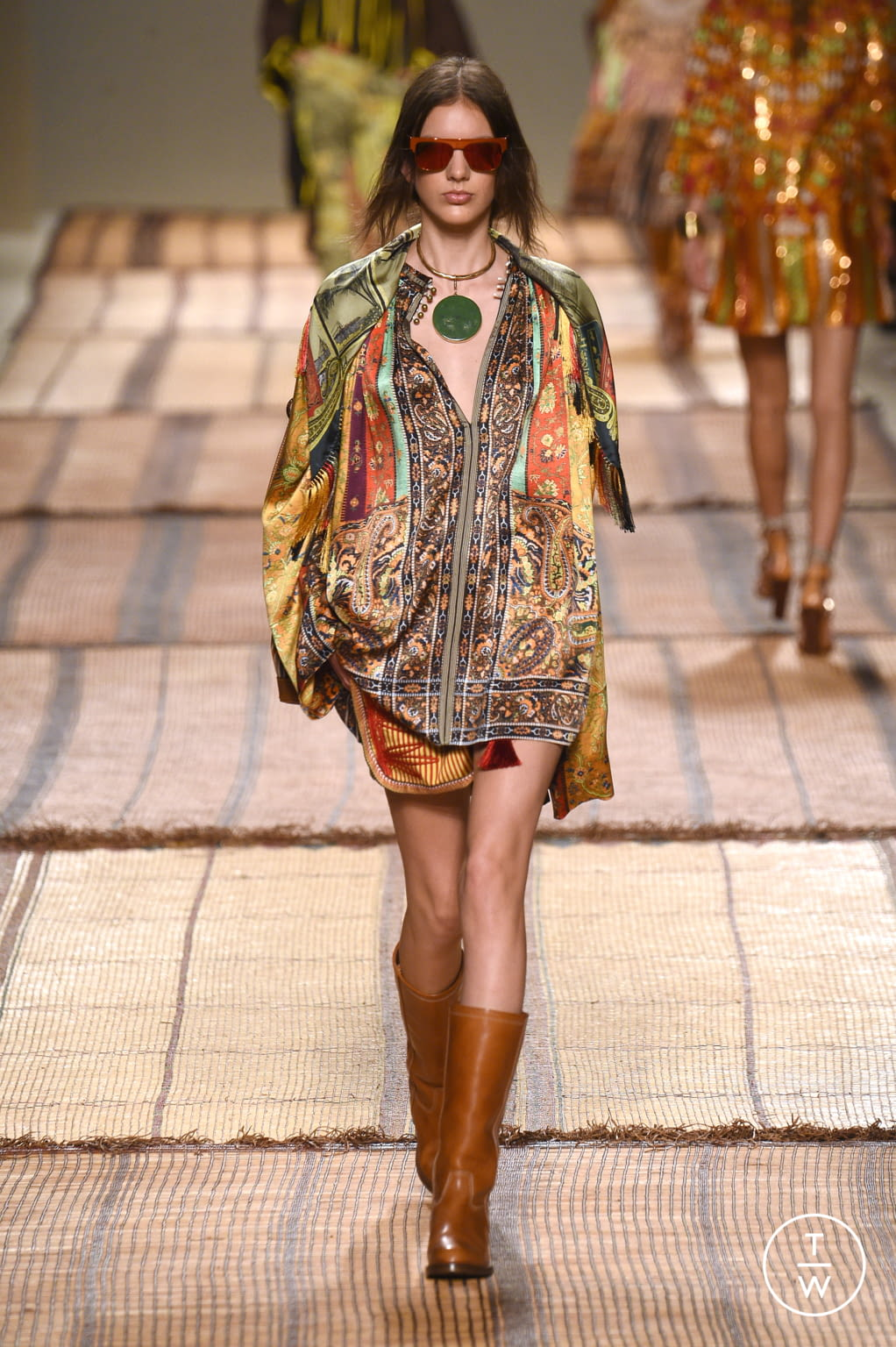 Fashion Week Milan Spring/Summer 2017 look 25 from the Etro collection womenswear