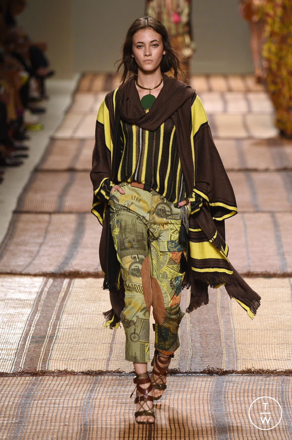 Fashion Week Milan Spring/Summer 2017 look 26 from the Etro collection 女装