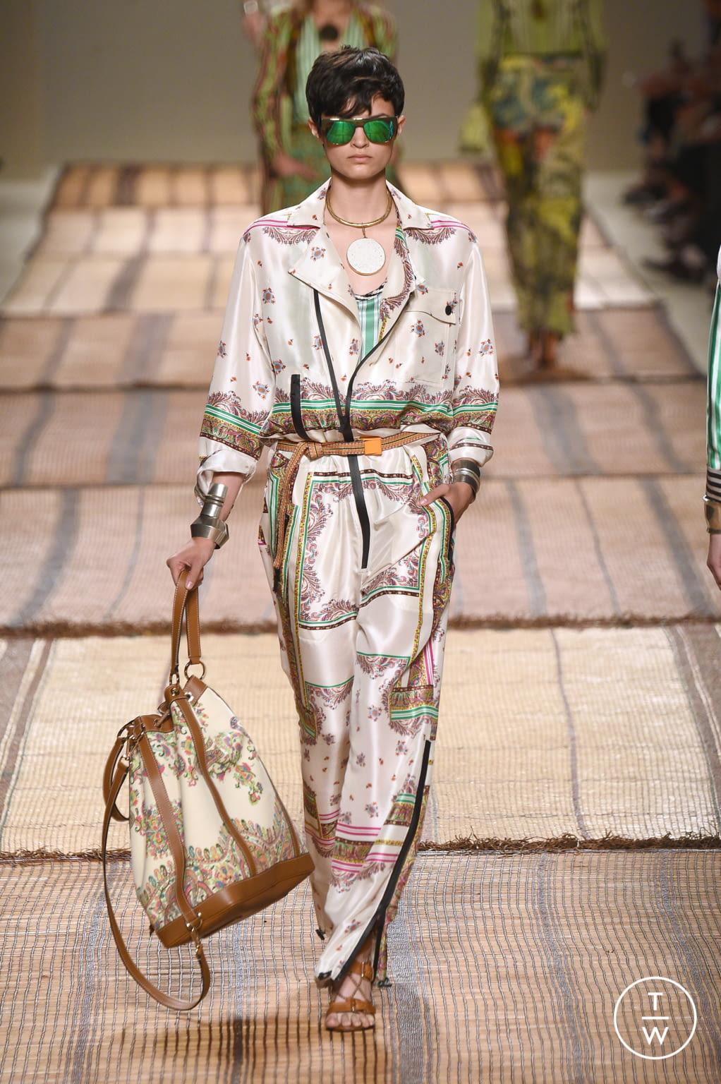 Fashion Week Milan Spring/Summer 2017 look 32 de la collection Etro womenswear