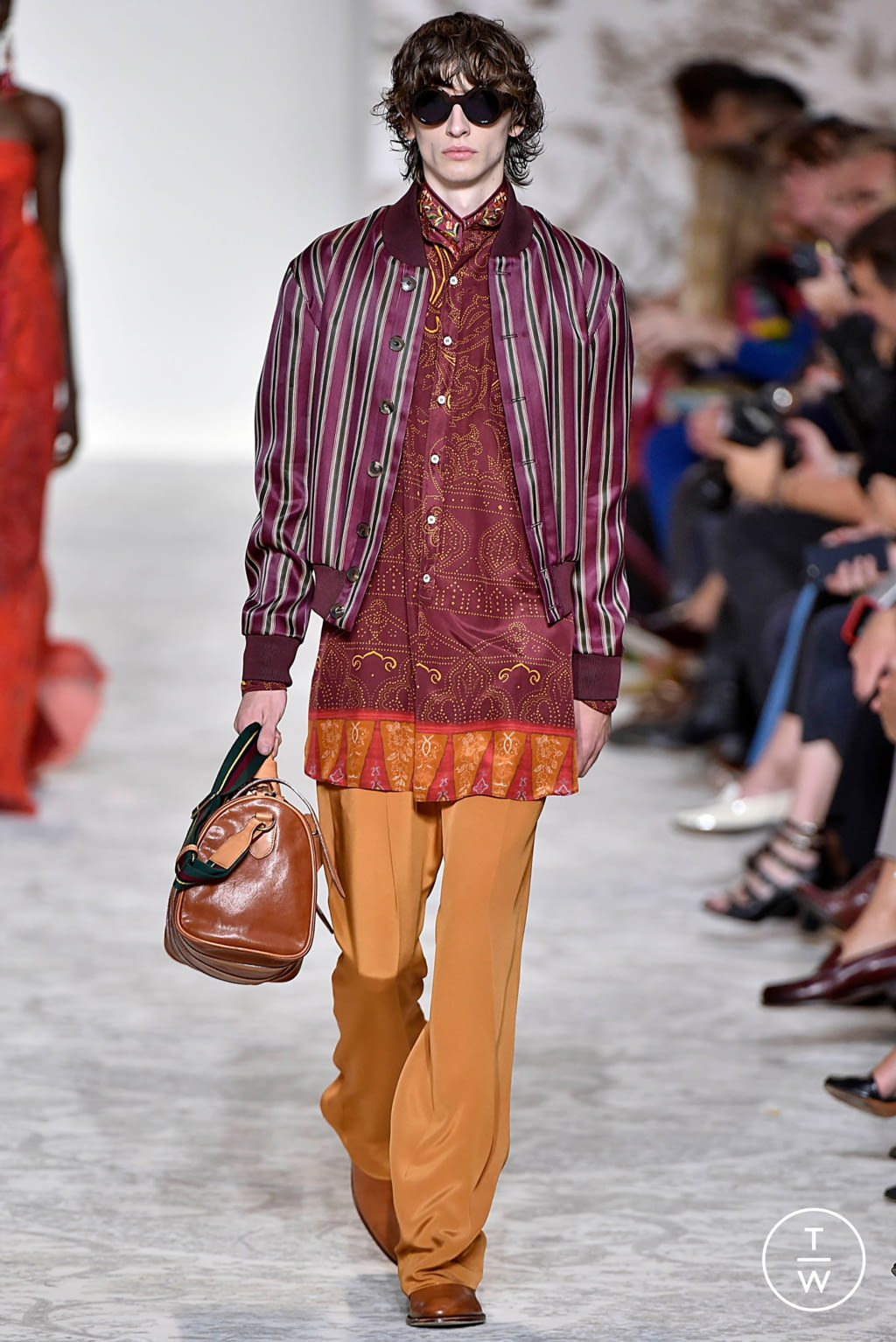 Fashion Week Milan Spring/Summer 2018 look 45 from the Etro collection 女装