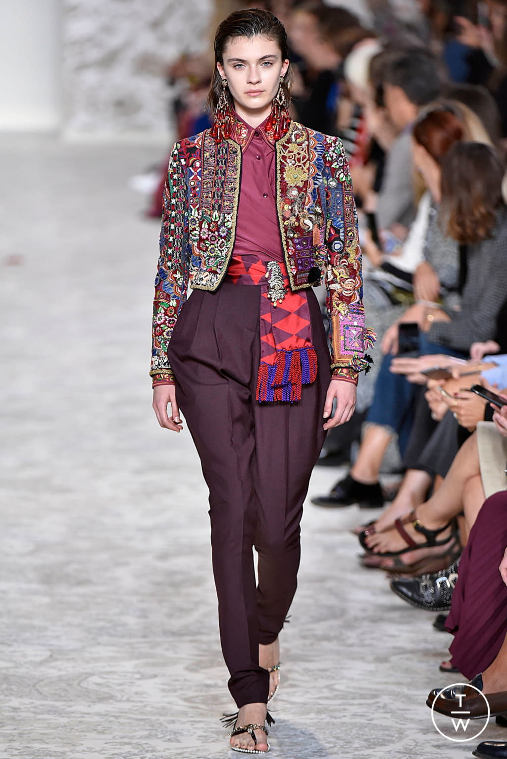 Fashion Week Milan Spring/Summer 2018 look 50 from the Etro collection 女装