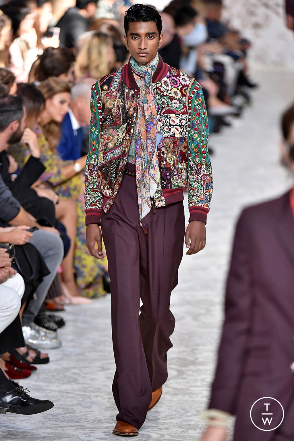 Fashion Week Milan Spring/Summer 2018 look 52 from the Etro collection 女装