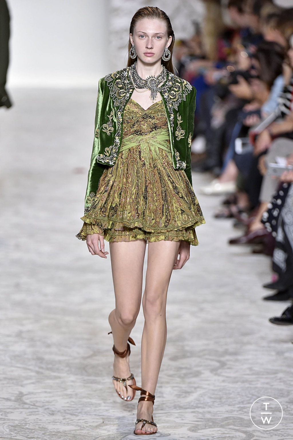 Fashion Week Milan Spring/Summer 2018 look 66 from the Etro collection 女装