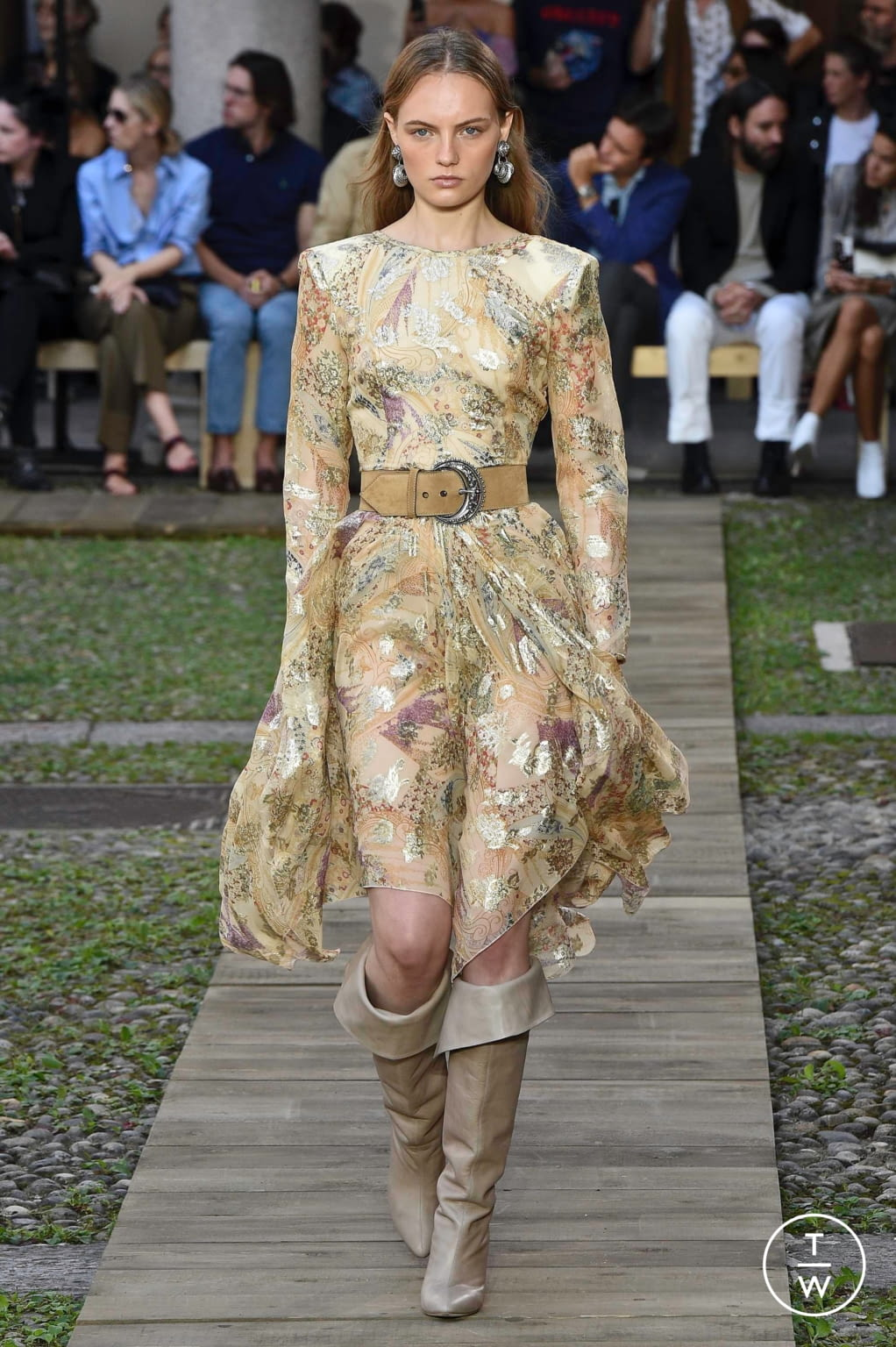 Fashion Week Milan Spring/Summer 2020 look 4 from the Etro collection womenswear