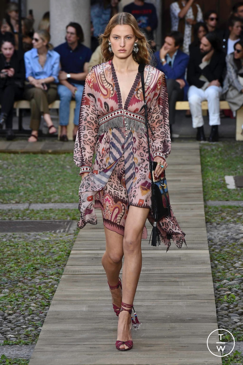 Fashion Week Milan Spring/Summer 2020 look 18 from the Etro collection womenswear