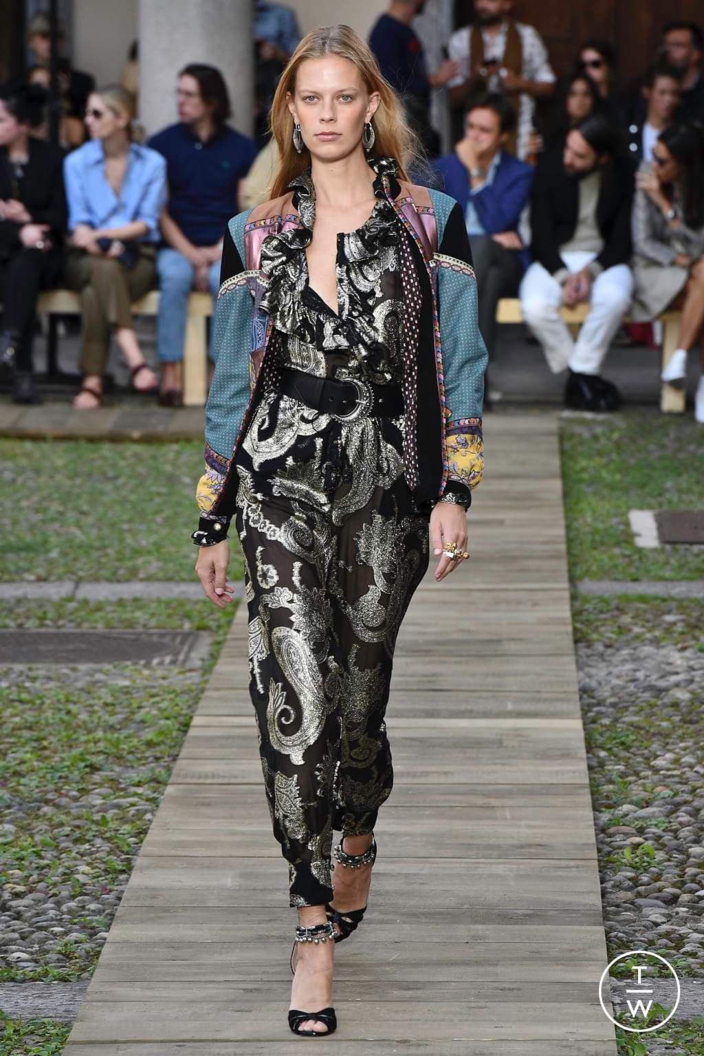 Fashion Week Milan Spring/Summer 2020 look 47 from the Etro collection womenswear