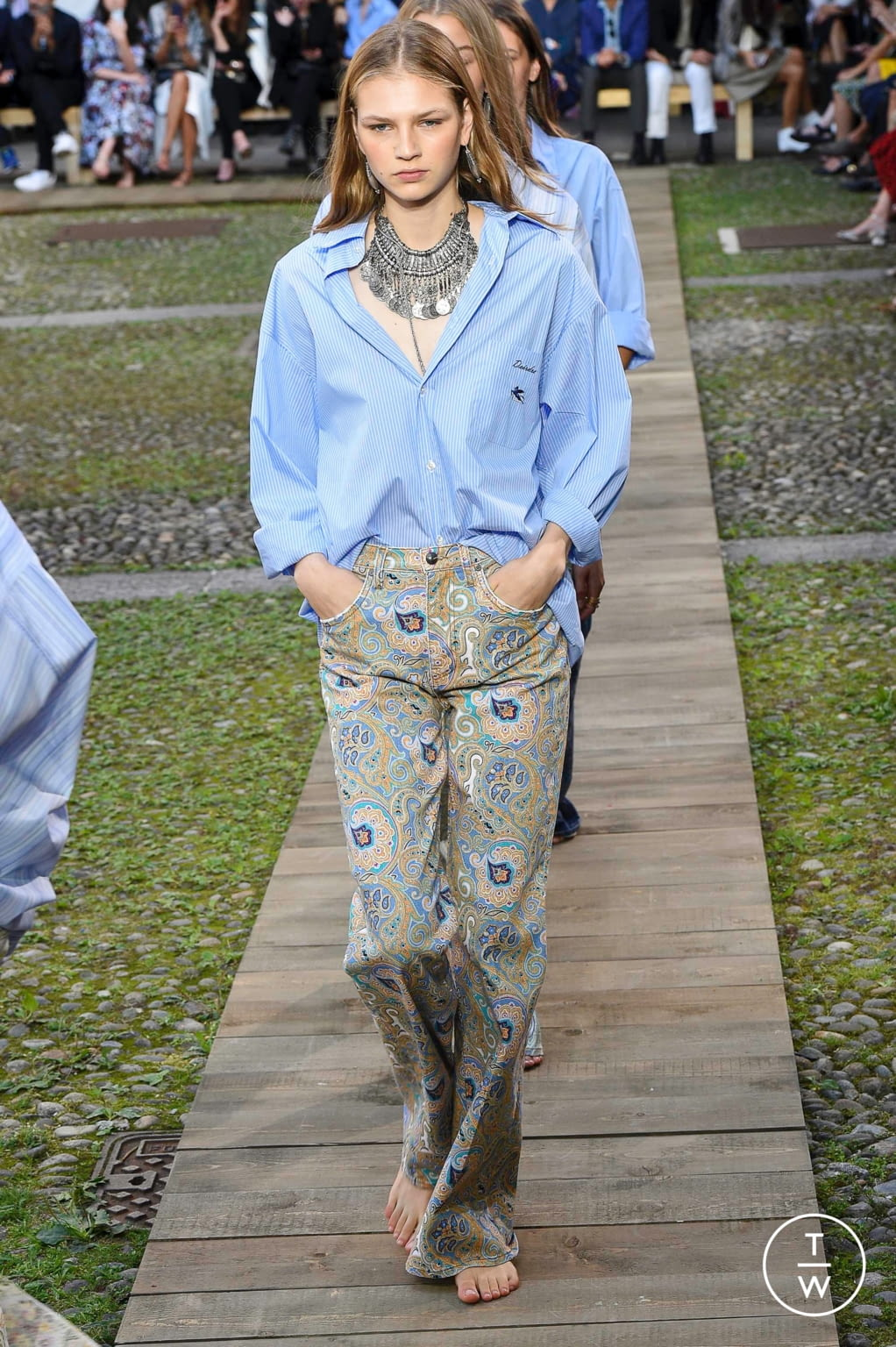 Fashion Week Milan Spring/Summer 2020 look 65 from the Etro collection womenswear