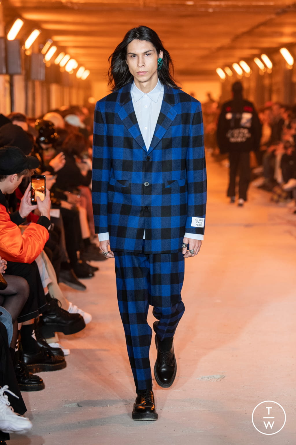 Fashion Week Paris Fall/Winter 2020 look 34 from the Etudes collection menswear
