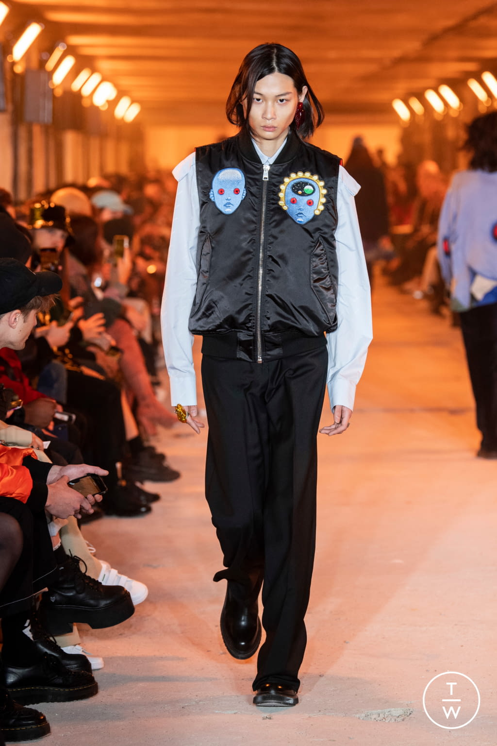 Fashion Week Paris Fall/Winter 2020 look 38 from the Etudes collection menswear