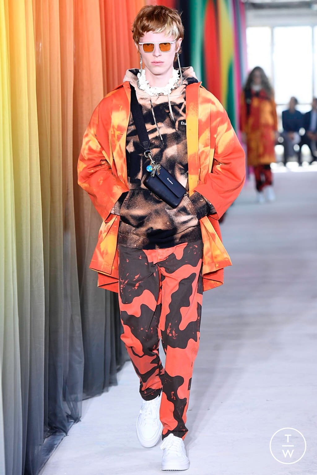 Fashion Week Paris Spring/Summer 2020 look 4 from the Etudes collection menswear