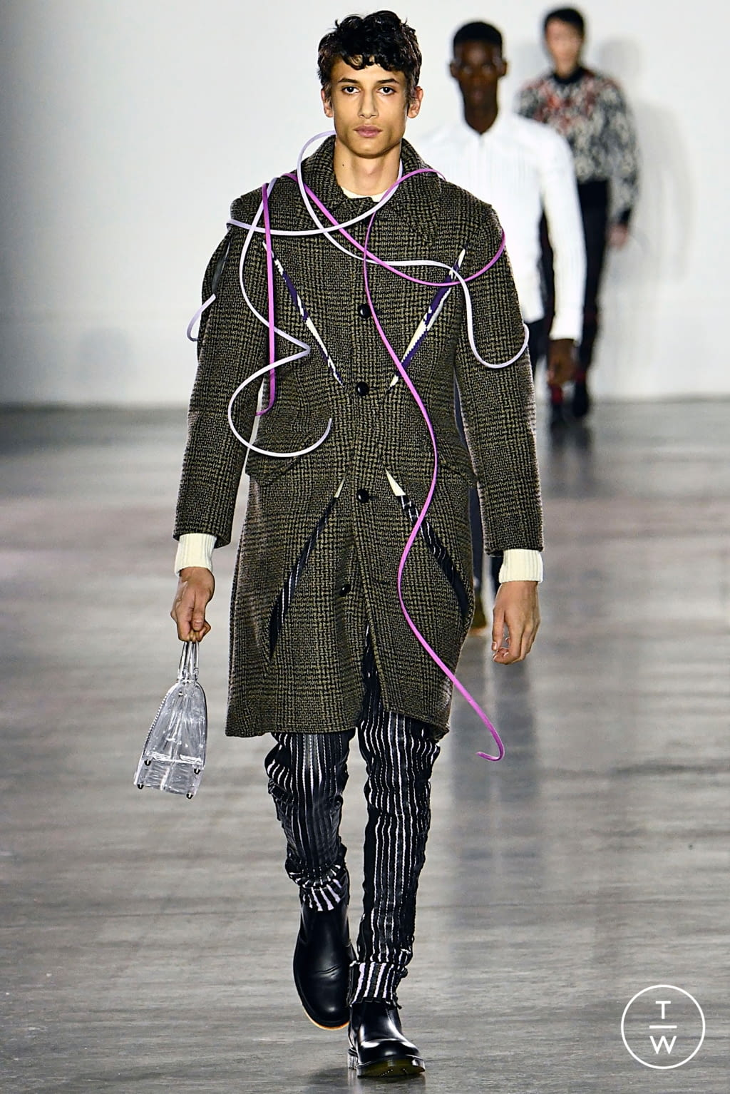 Fashion Week London Fall/Winter 2019 look 31 from the Fashion East collection menswear