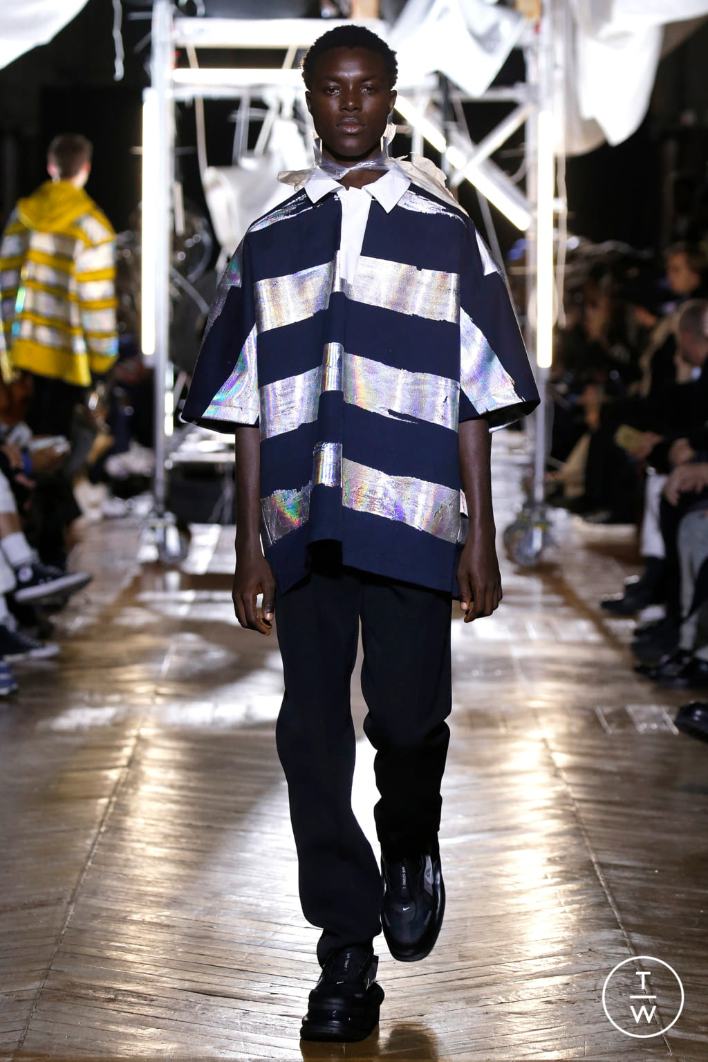 Fashion Week Paris Fall/Winter 2020 look 11 from the Botter collection menswear
