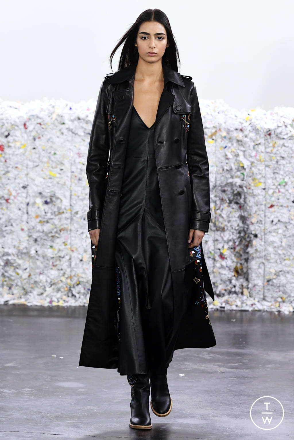 Fashion Week New York Fall/Winter 2020 look 27 from the Gabriela Hearst collection womenswear