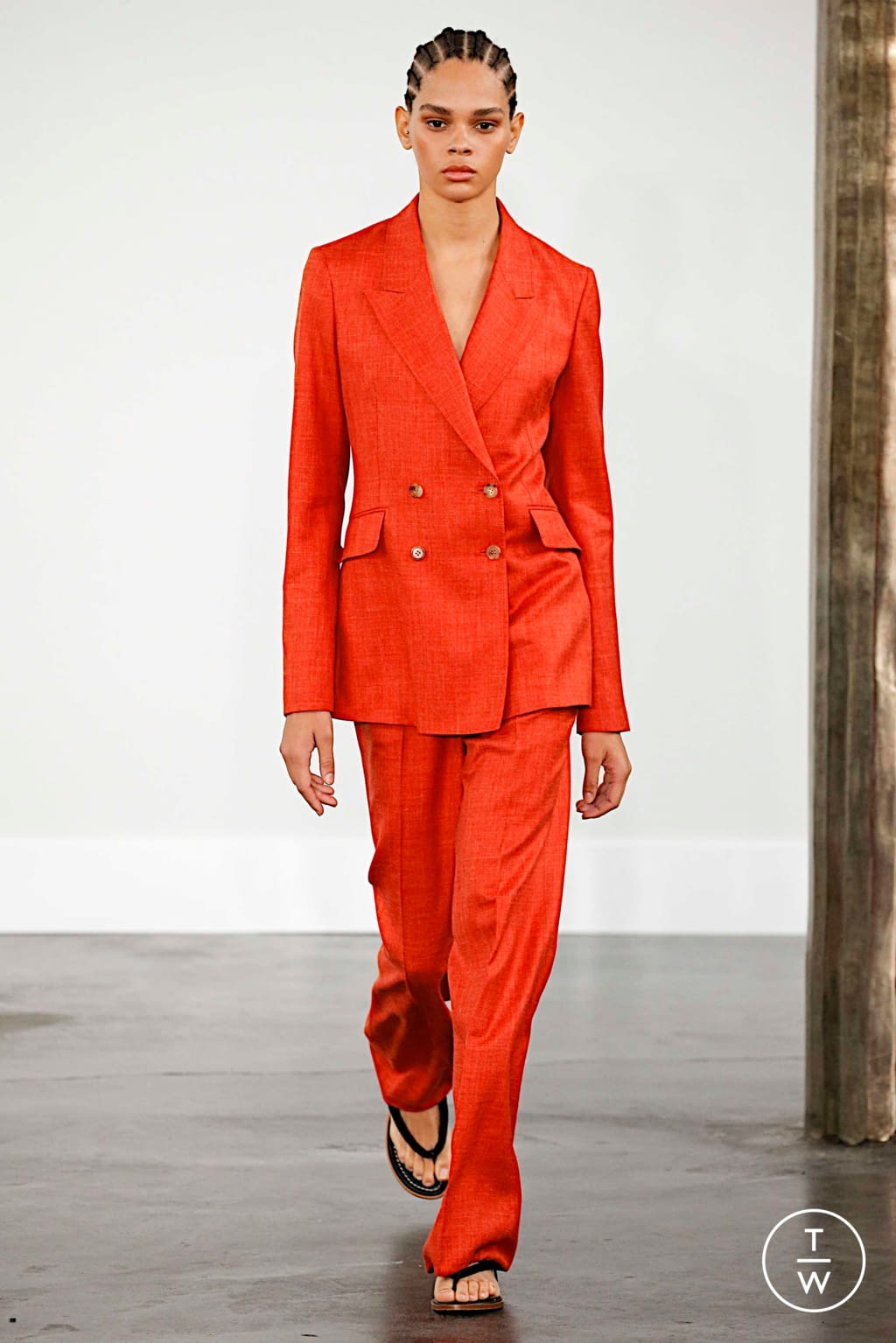 Fashion Week New York Spring/Summer 2020 look 15 from the Gabriela Hearst collection womenswear