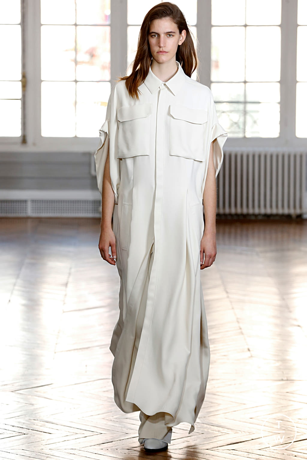 Fashion Week Paris Spring/Summer 2019 look 22 from the GAUCHERE collection womenswear