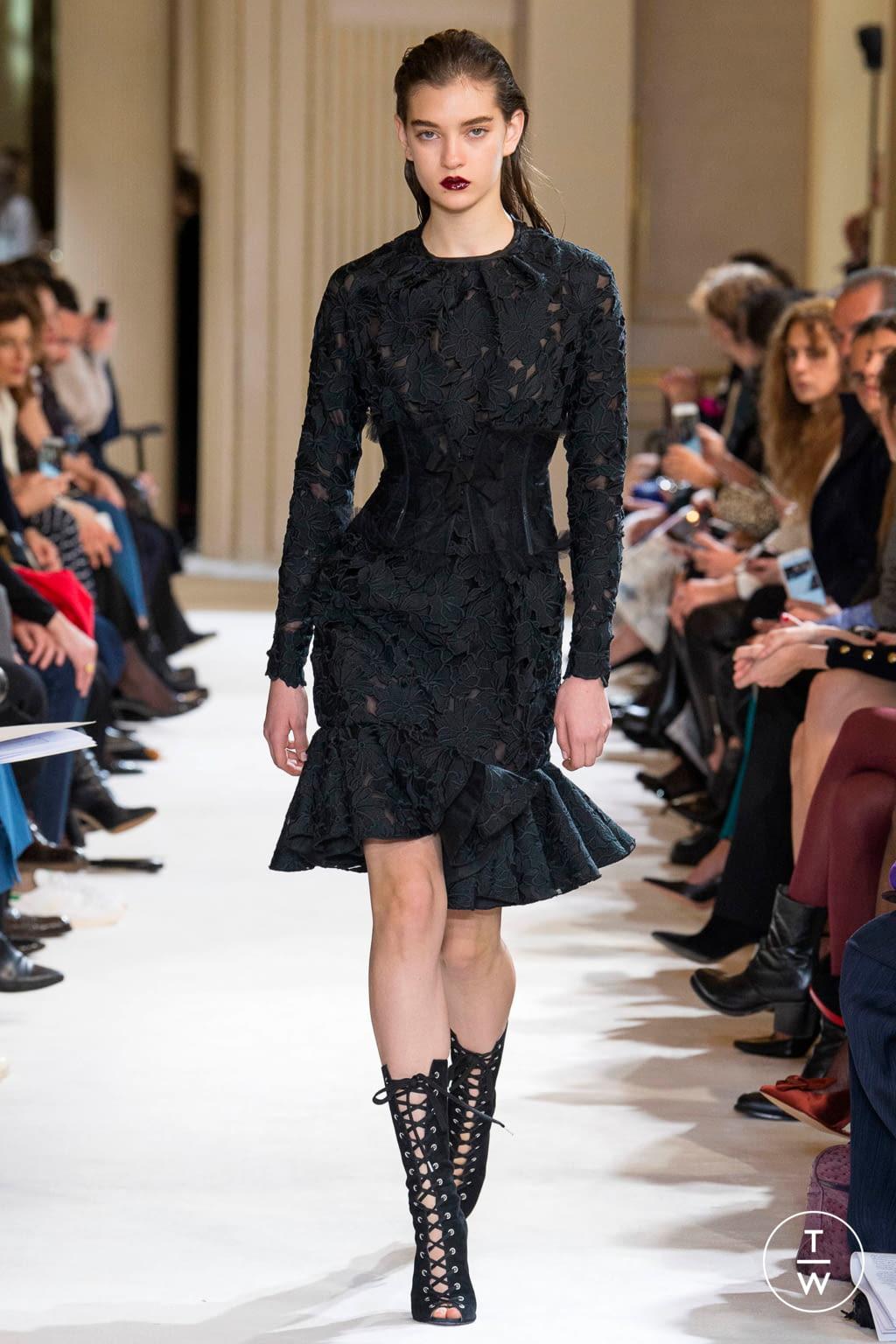 Fashion Week Paris Fall/Winter 2017 look 7 from the Giambattista Valli collection womenswear