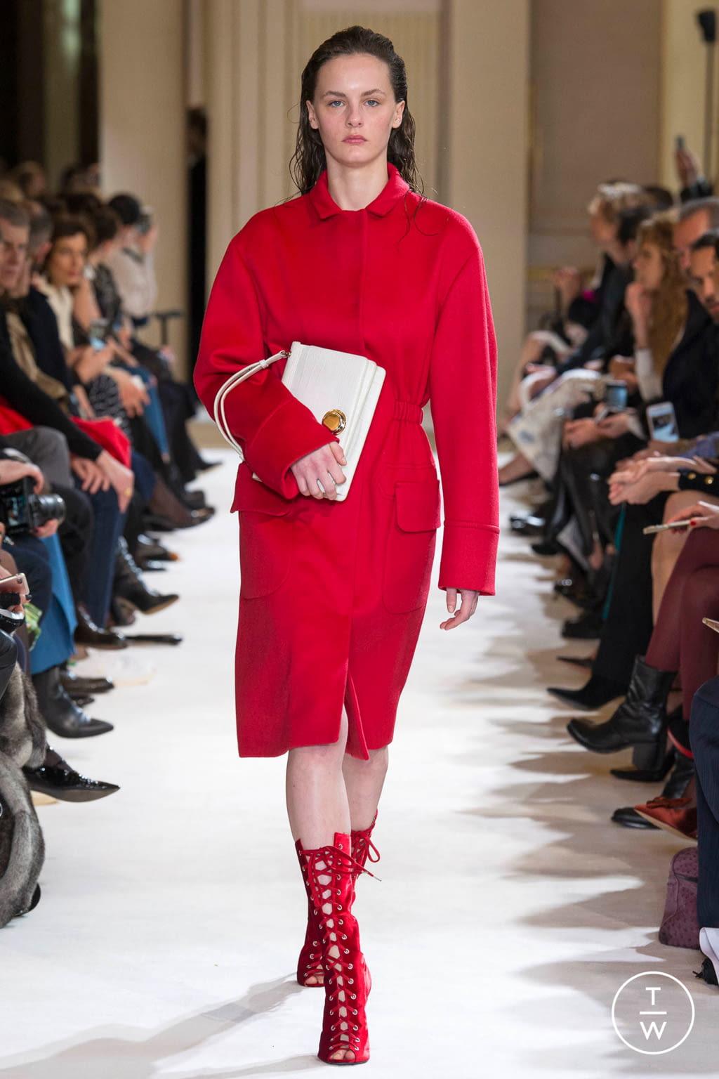 Fashion Week Paris Fall/Winter 2017 look 11 from the Giambattista Valli collection womenswear
