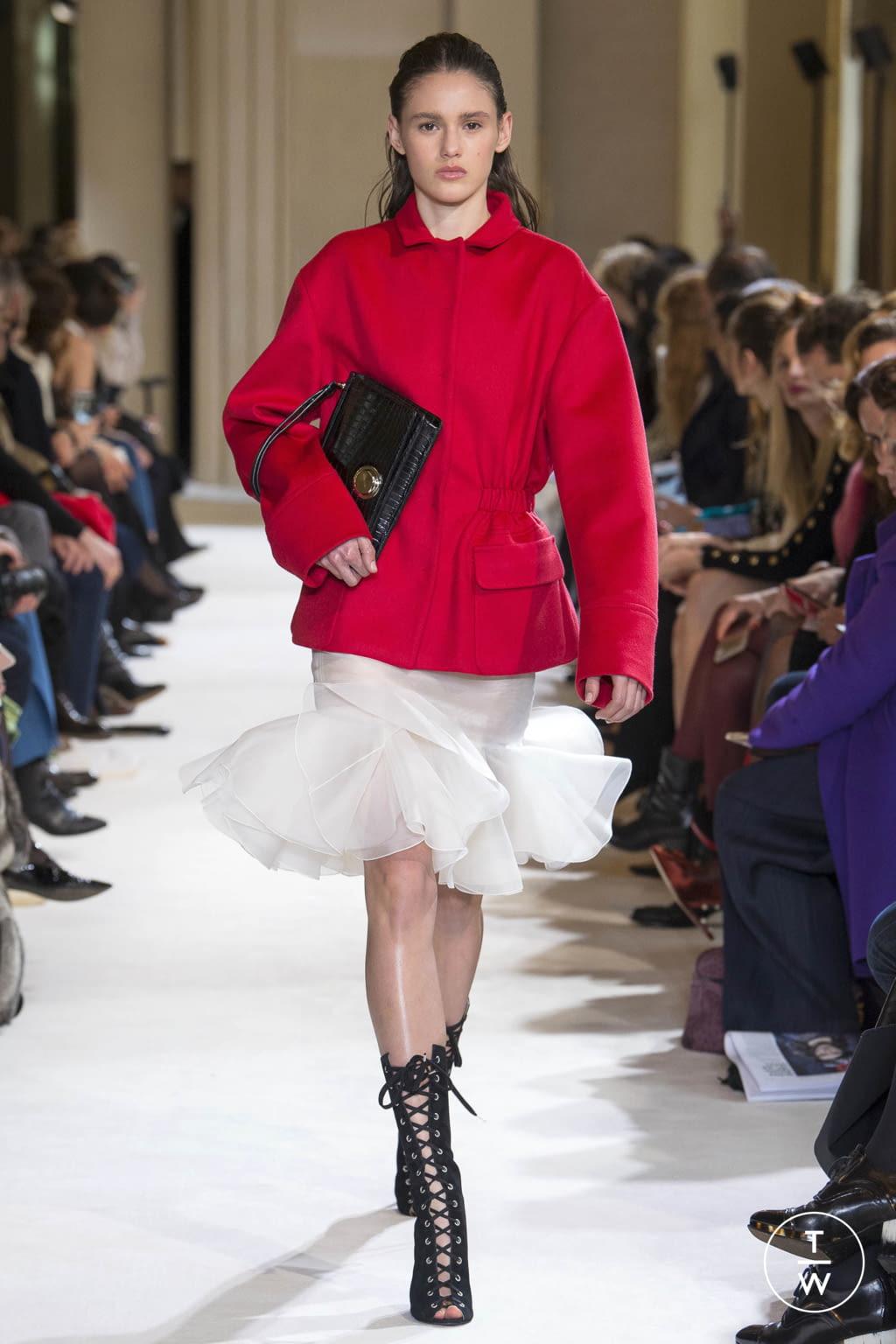 Fashion Week Paris Fall/Winter 2017 look 17 from the Giambattista Valli collection womenswear