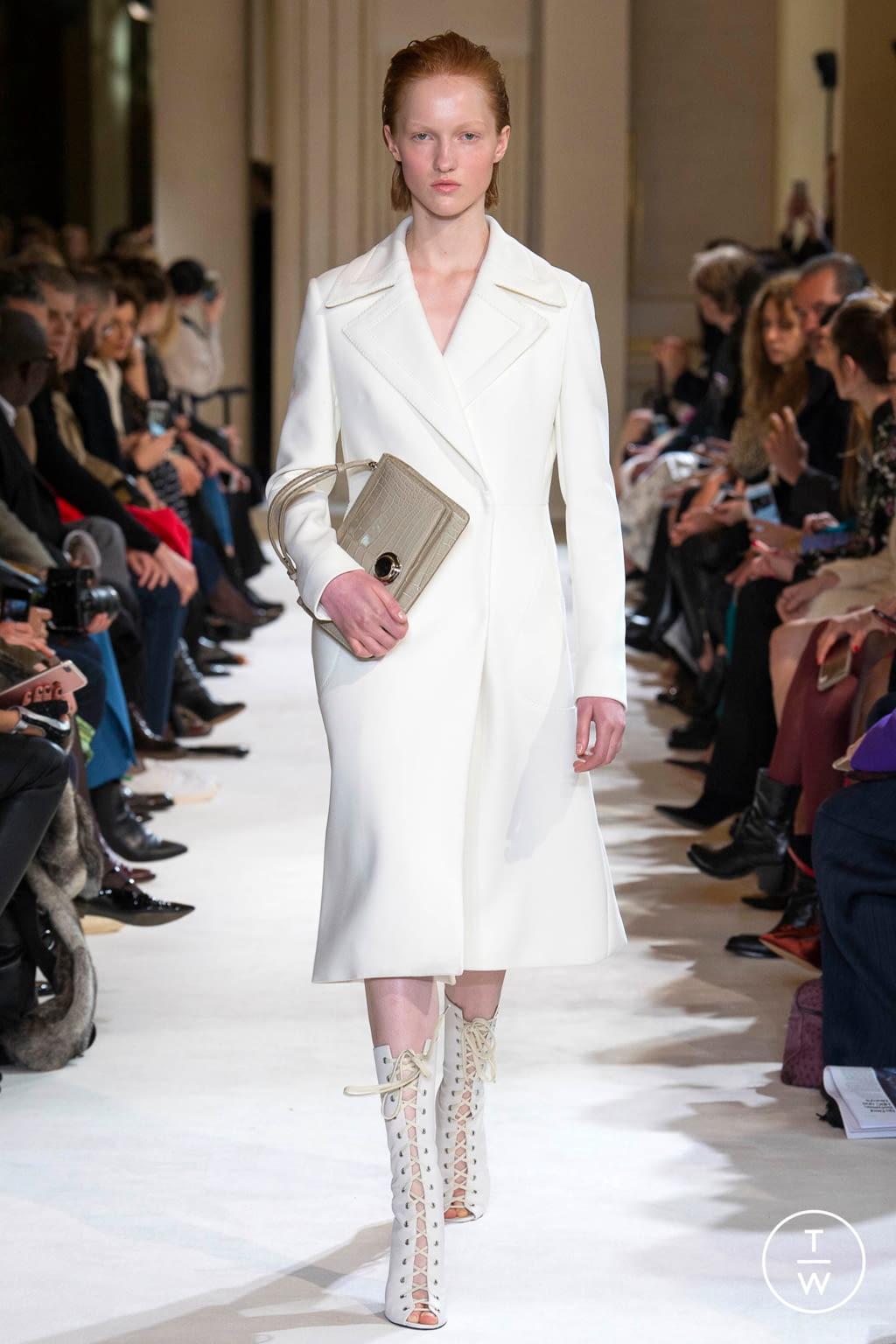 Fashion Week Paris Fall/Winter 2017 look 19 from the Giambattista Valli collection womenswear
