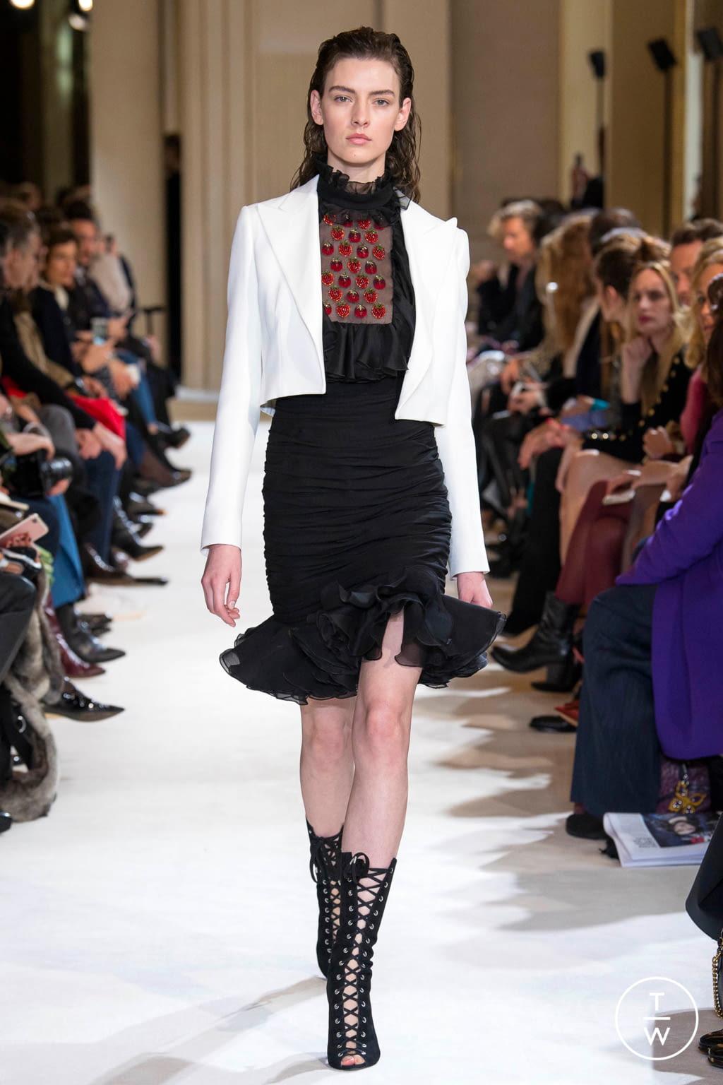 Fashion Week Paris Fall/Winter 2017 look 32 from the Giambattista Valli collection womenswear