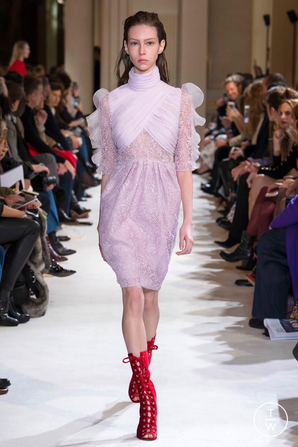 Fashion Week Paris Fall/Winter 2017 look 35 from the Giambattista Valli collection womenswear