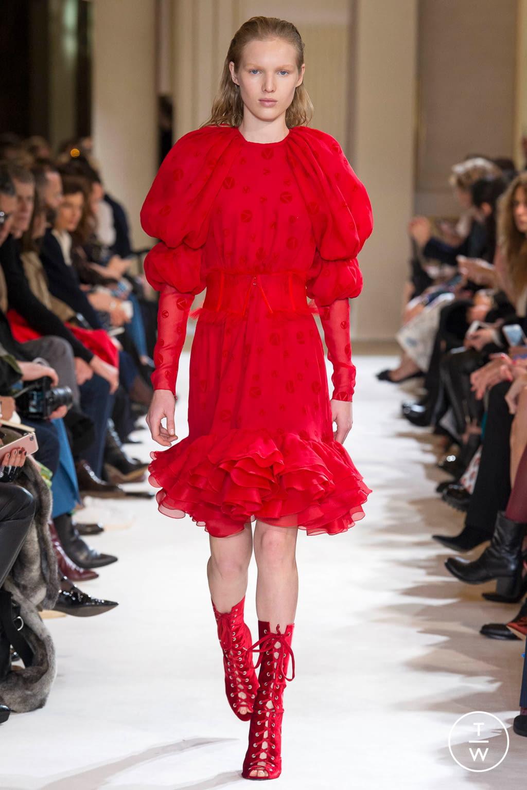 Fashion Week Paris Fall/Winter 2017 look 36 from the Giambattista Valli collection womenswear