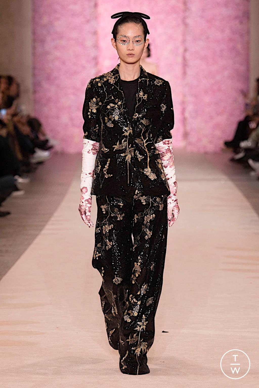 Fashion Week Paris Fall/Winter 2020 look 60 from the Giambattista Valli collection womenswear